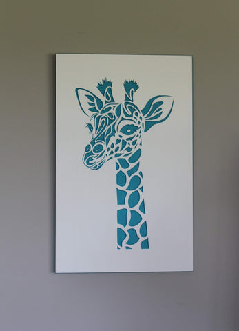 Giraffe Wall Art (4 colours)