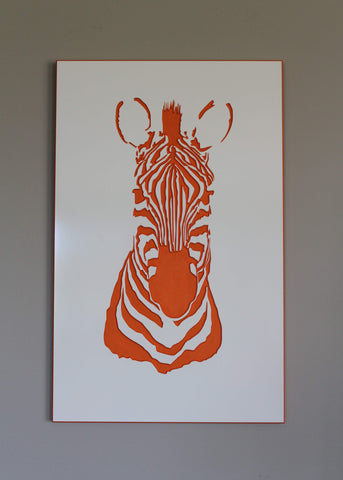 Zebra Wall Art (4 colours)
