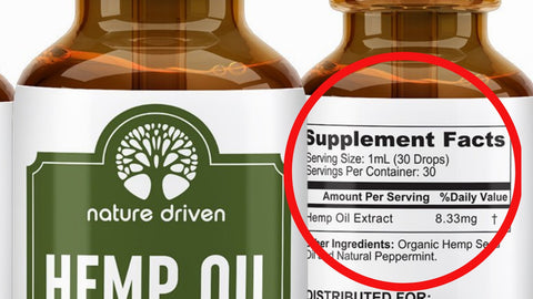 hemp extract oil from Amazon