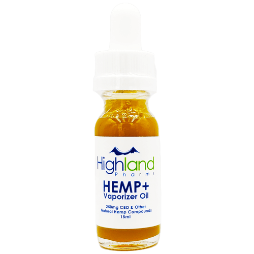 Highland Pharms HEMP Plus Vape Oil - 165mg