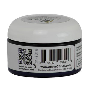 Active CBD Salve 4oz. (Super Strength)