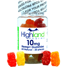 Load image into Gallery viewer, HighLand Pharms All Natural CBD Gummies