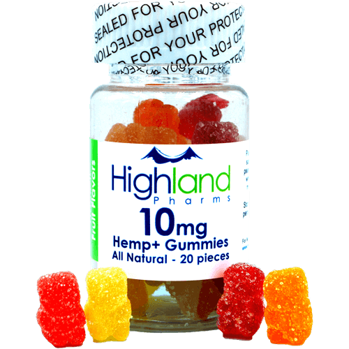 HighLand Pharms All Natural CBD Gummies