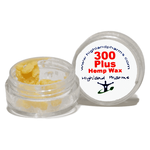 HighLand Pharms Hemp Wax Crumble