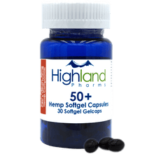 Load image into Gallery viewer, Highland Pharms Hemp Softgel Capsules