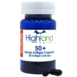 Highland Pharms Hemp Softgel Capsules