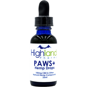 HighLand Pharms CBD PAWS (CBD Oil for Pets)
