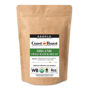 Sample Pack Decafs (3 pack) - Coast Roast Organic Coffee