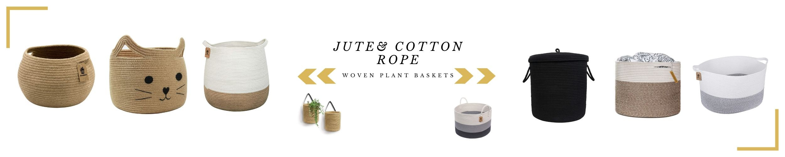 jute rope basket