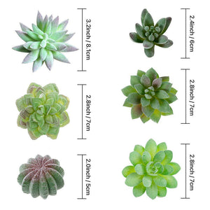Artificial Succulents Plants 14 PCs