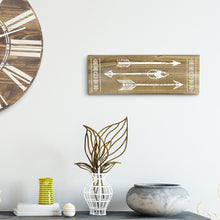 Load image into Gallery viewer, Decorative Modern Farmhouse Living Room Arrow Sign Wall Decor