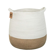 Load image into Gallery viewer, Large Jute Storage Baskets with Handles