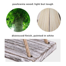 Load image into Gallery viewer, 2 Pcs DIY Floating Shelves White Distressed Wood Home Decor Material
