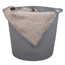 Load image into Gallery viewer, 2 Pcs Baby Laundry Baskets with Handle Home Decor grey