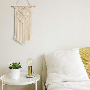 Minimalist Wall Art Small Woven Tapestry Wall Hanging