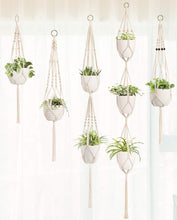 Load image into Gallery viewer, 5 Pack Different Designs Handmade Indoor Wall Hanging Planter