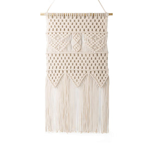 Macrame Wall Hanging Bedroom Wall Decor Beige