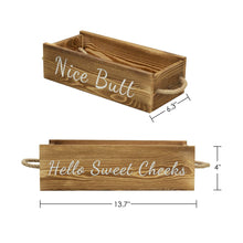 Load image into Gallery viewer, Nice Butt Bathroom Decor Box