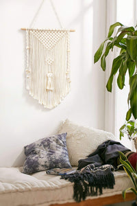 Small Woven Tapestry Boho Wall Art For Bedroom