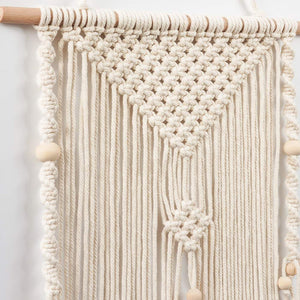 Small Woven Tapestry Boho Wall Art Details