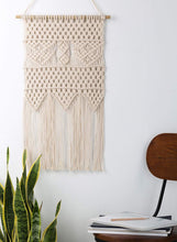 Load image into Gallery viewer, Macrame Wall Hanging Bedroom Wall Decor Beige For Living Room