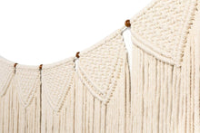 Load image into Gallery viewer, Large Macrame Wall Hanging Garland Boho Banner Curtain Fringe Wedding Wall Decor