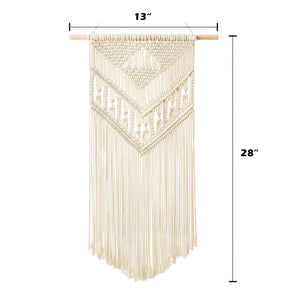 Macrame Woven Wall Hanging Bedroom Decor Size