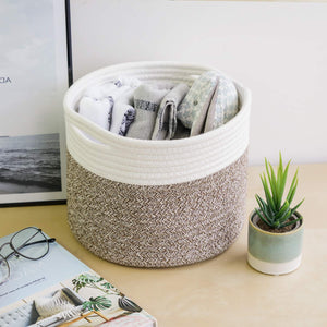 Cotton Rope Small Woven Basket