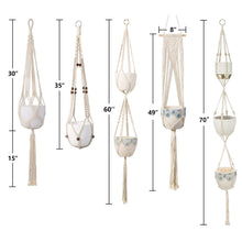 Load image into Gallery viewer, 5 Pcs Cotton Rope Hanging Plant Hangers