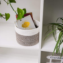 Load image into Gallery viewer, Small Woven Storage Basket For Bedroom