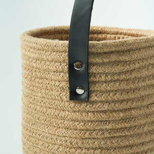 Small Jute Rope Hanging Basket Details