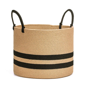 Extra Large Jute Basket Woven Storage Basket with Handles