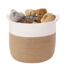 Load image into Gallery viewer, Baby Toy Storage Blanket Storage Basket