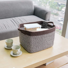 Load image into Gallery viewer, Mix Brown Woven Basket for Shelves