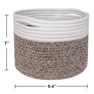 Small Woven Storage Basket Size