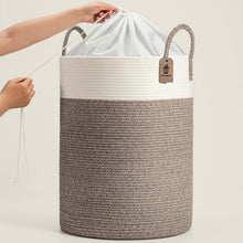Load image into Gallery viewer, Tall Laundry Hamper for Dirty Clothes