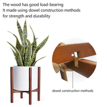 Load image into Gallery viewer, Mid Century Modern Plant Stand Retro Home Decor Details