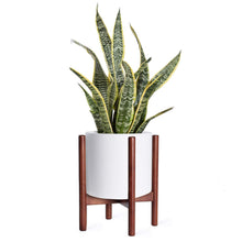 Load image into Gallery viewer, Mid Century Modern Plant Stand Retro Home Decor