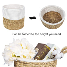 Load image into Gallery viewer, 2 Pcs Plant Basket Indoor Hyacinth Planter Home Decor Details