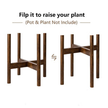 Load image into Gallery viewer, Plant Stand Indoor Mid Century Modern Home Decor