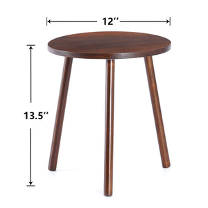 Small Round Side Table Indoor Tall Plant Stand Size