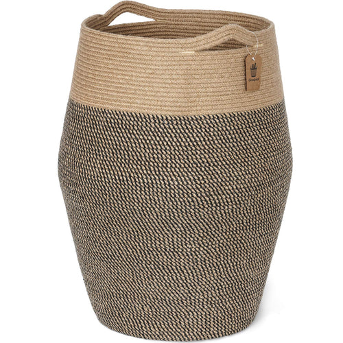 Tall Laundry Hamper Woven Jute Rope Basket
