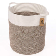 Load image into Gallery viewer, Timeyard Tall Blanket Basket for Baby Laundry Hampers Playroom Storage