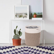 Load image into Gallery viewer, Timeyard Tall Blanket Basket for Baby Laundry Hampers Playroom Storage  living room