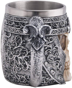 Viking Stainless Steel Skull Coffee Mug