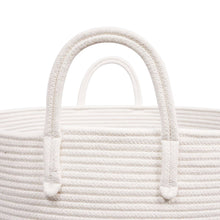 Load image into Gallery viewer, Timeyard XXXL Pin Storage Boxes Woven Rope Basket for Plush Stuffed Animals Baby Nursery Basket with handles