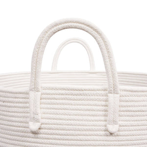 Timeyard XXXL Pin Storage Boxes Woven Rope Basket for Plush Stuffed Animals Baby Nursery Basket with handles