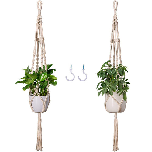 Macrame Plant Hanger Set of 2