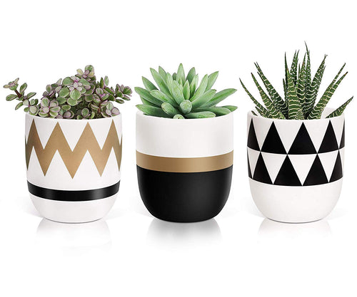 Timeyard Modern Plant Pots Flower Pots Mini Planter Indoor