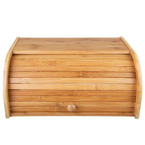 "Countertop Bamboo Bread Box 15.8""x 10.8""x 6.8"""